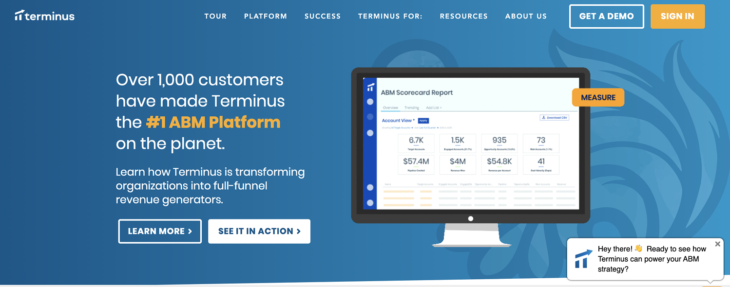 terminus account-based marketing platform