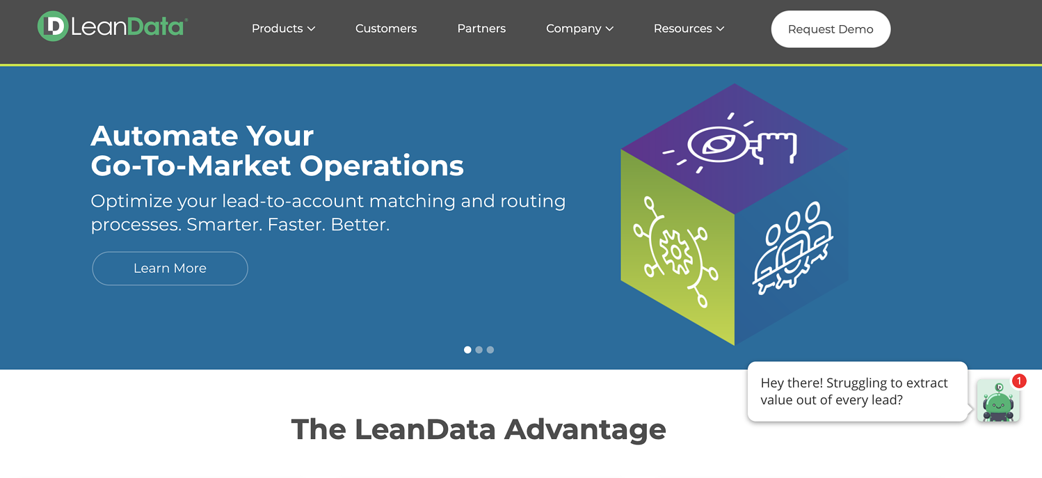lean data account based marketing example