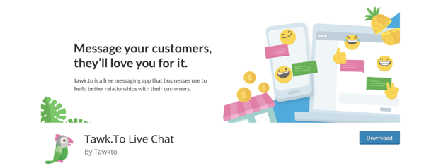 talk.to live chat plugin for WordPress