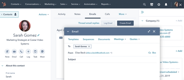 hubspot crm and contact management for smbs to enterprise-level companies