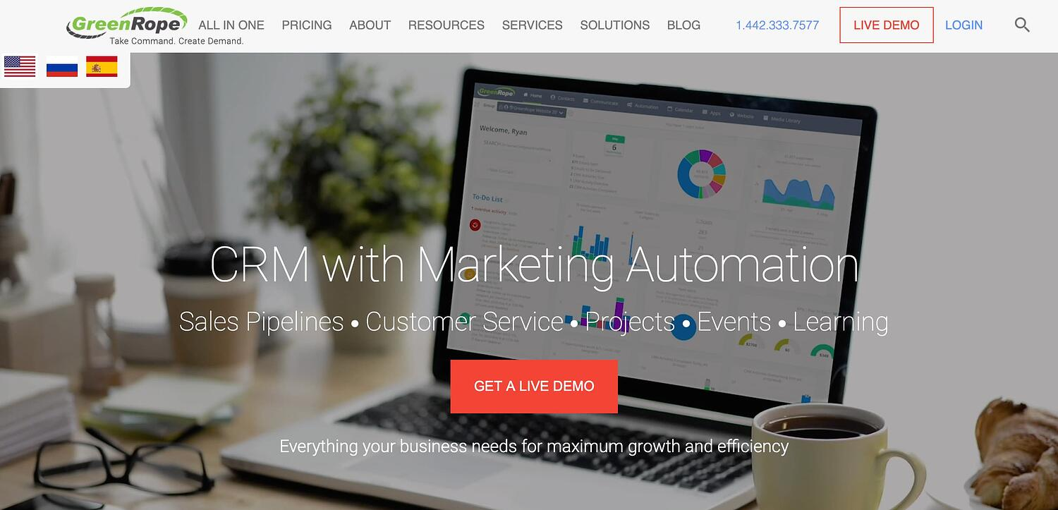 greenrope crm software