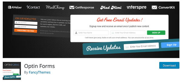 optin forms lead generation hubspot plugin