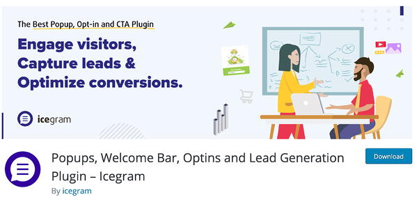 Popups, Welcome Bar, Optins and Lead Generation Plugin WordPress plugin for lead generation