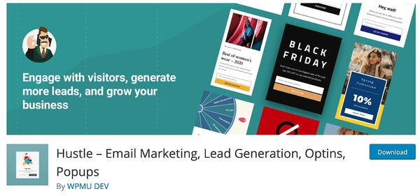 hustle lead generation wordpress plugin