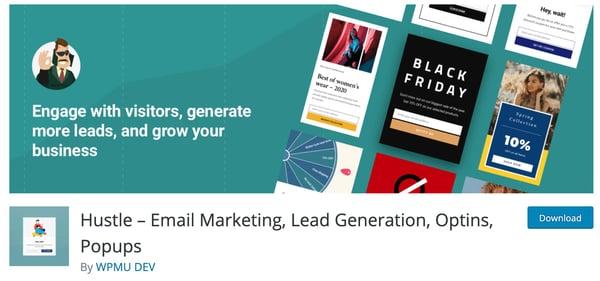 Hustle Lead Generation WordPress Plugin