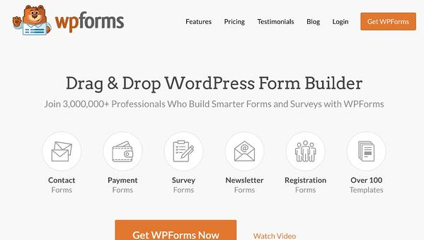 wpforms lead generation wordpress plugin