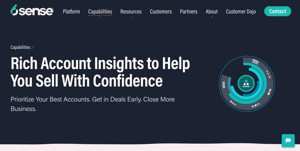 6sense sales intelligence software