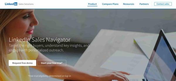 linkedin sales navigator sales intelligence software
