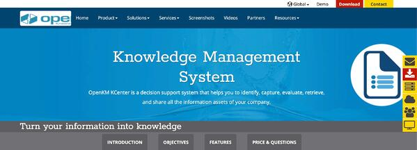 openkm knowledge management software