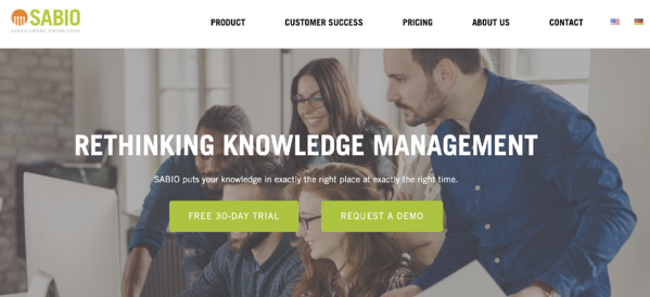 sabio knowledge base software