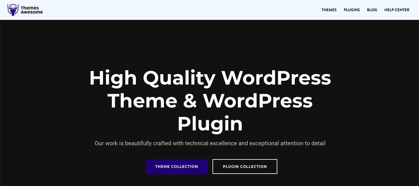 Kerinici Lite WordPress theme with minimalist design
