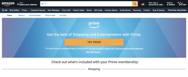 amazon prime customer loyalty program