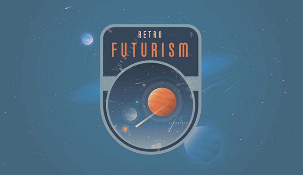 Retro futurism design