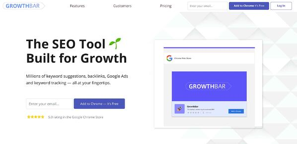 growthbar seo tool