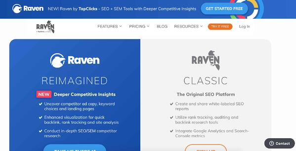 Raben tools example for business intelligence and data reporting tools