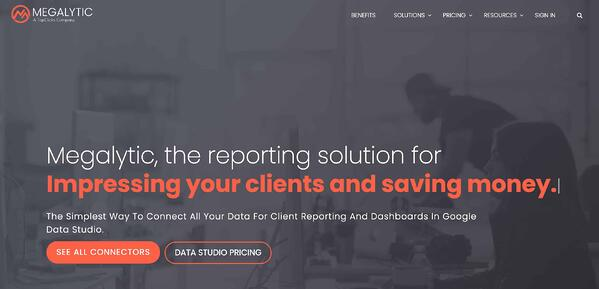 Example of business intelligence & data reporting tools megalytically