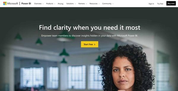 Business Intelligence and Data Reporting Tools Microsoft Power Bi