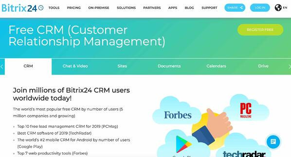 bitrix24 example of salesforce alternative