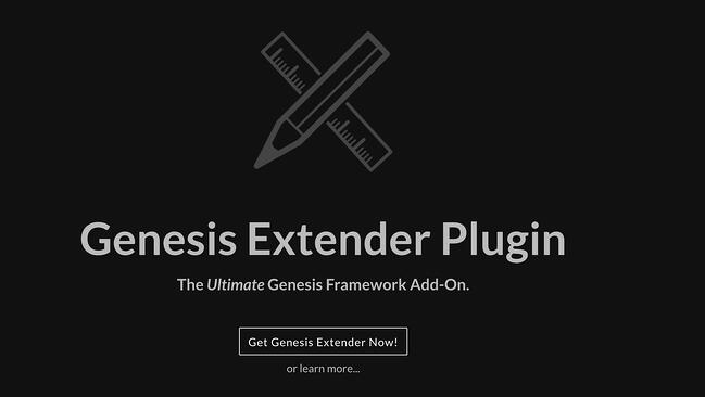 Genesis Extender Plugin logo