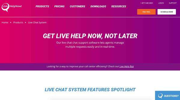 livechatnow live chat software and service