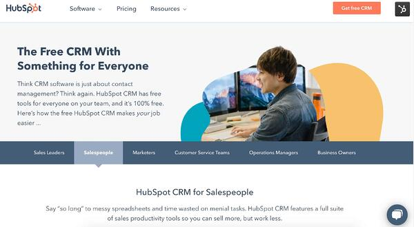 hubspot free crm for small businesses and startups