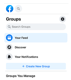 How to find and see a group on Facebook