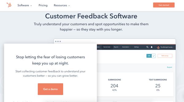 customer feedback software for customer retention