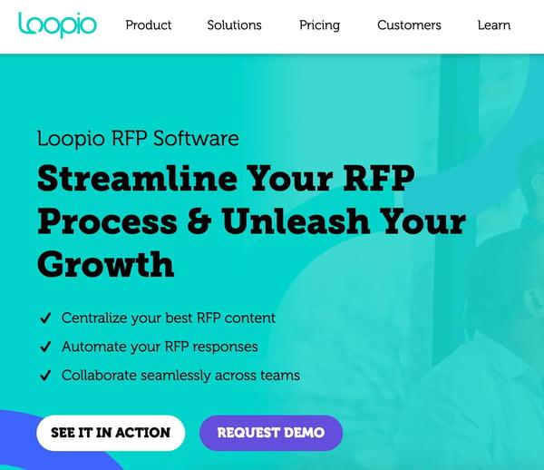 loopio sales quotes software