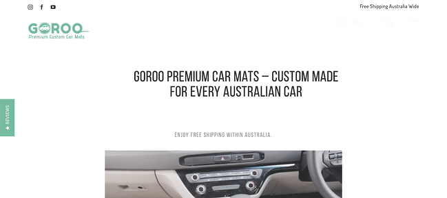 Goroo Avada theme website example