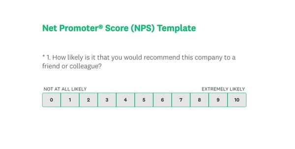 surveymonkey nps survey tool