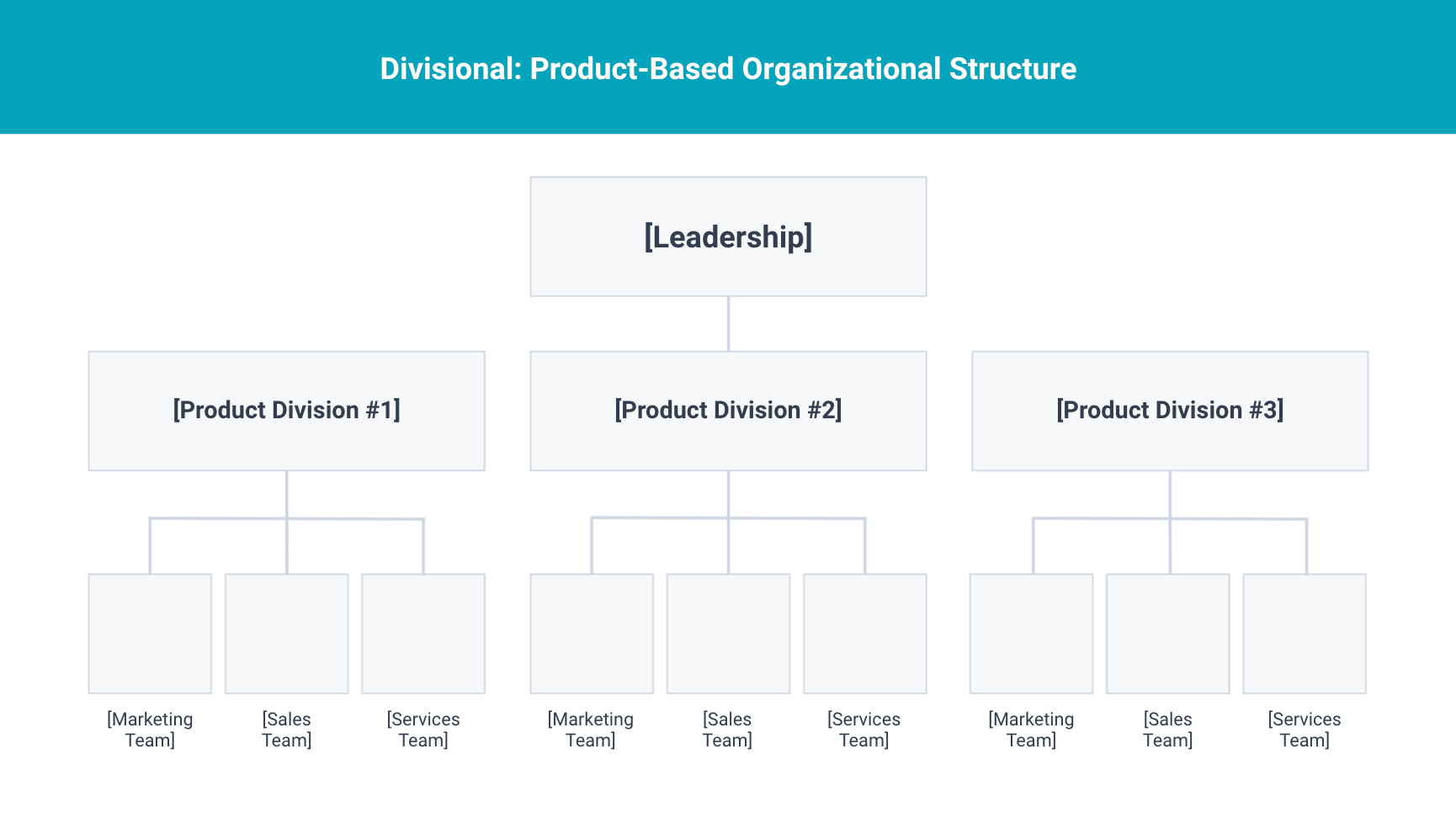 product based organizational structure
