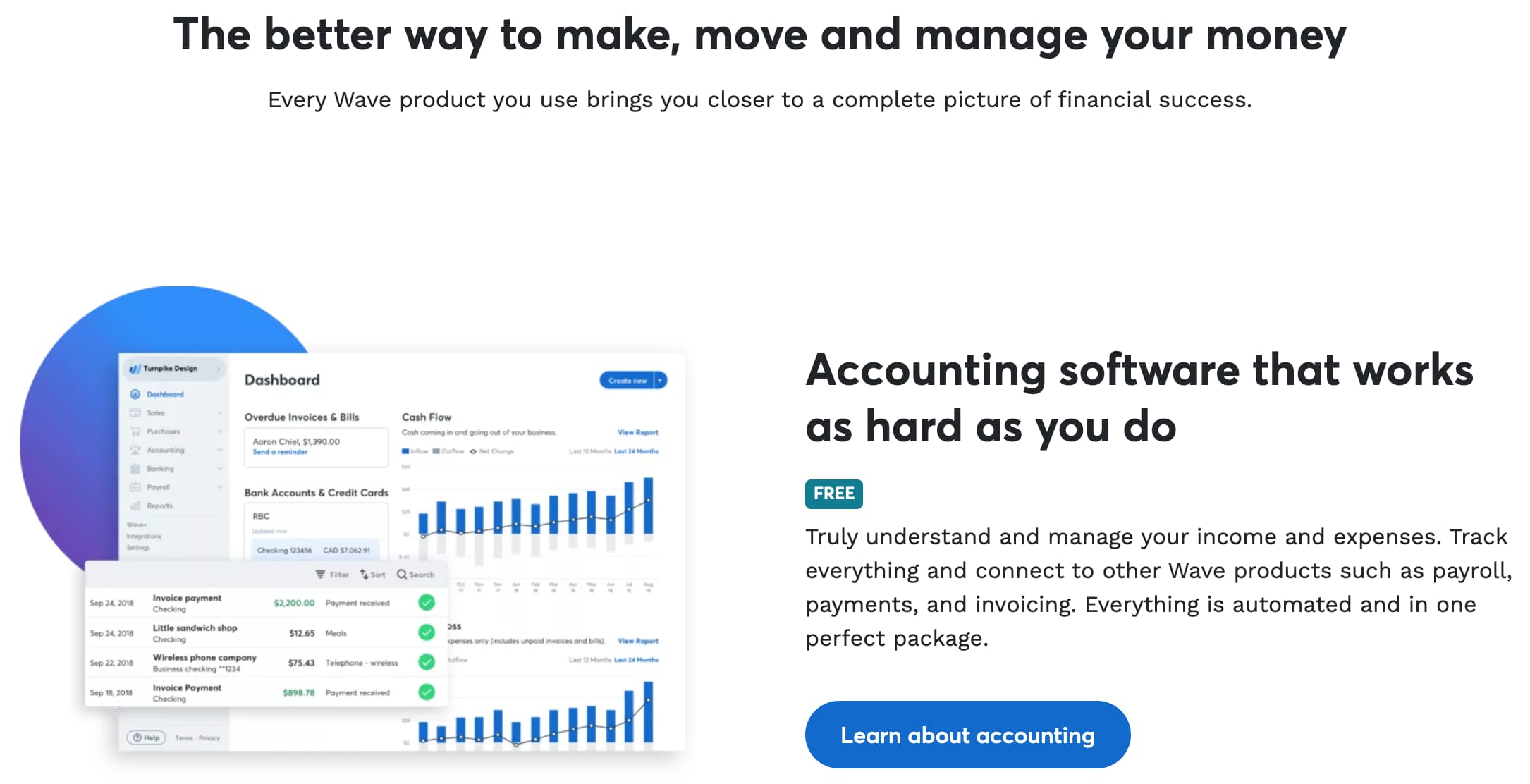 Small Business Accounting Software Wave