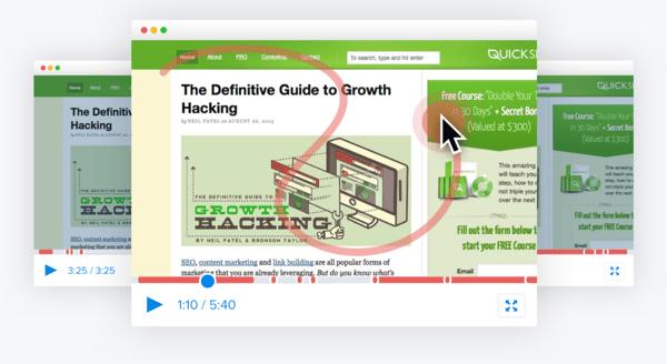 crazyegg website activity tracking tool