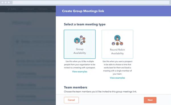HubSpot Free Appointment & Meeting Scheduler