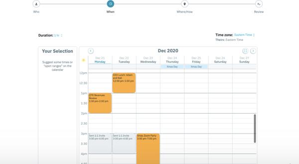 Arrangr best meeting scheduler tool