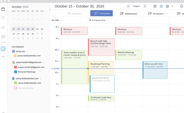 calendar best meeting scheduling software