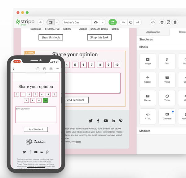 Stripo.email best email template builder