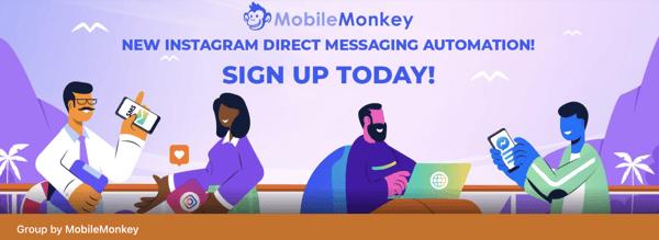 best facebook groups: mobille monkey