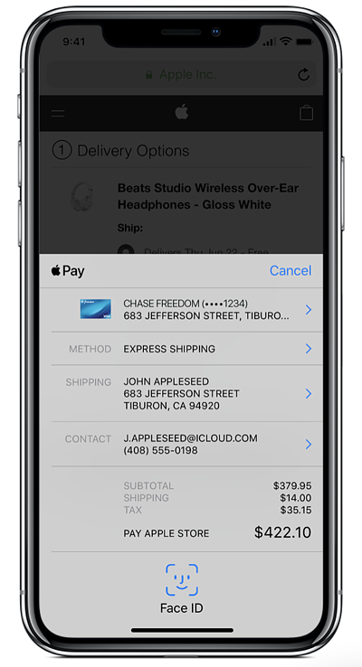 How to Accept Payments Online for Free: apple pay