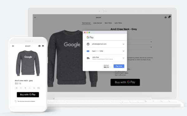 How to Accept Payments Online for Free: google pay