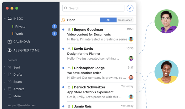 spark one inbox tool for all emails and communications