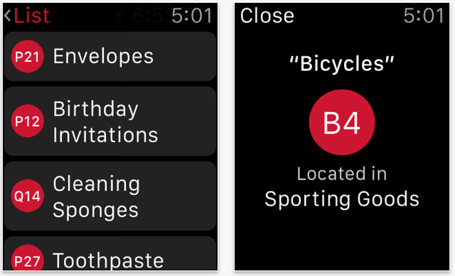 target apple watch app