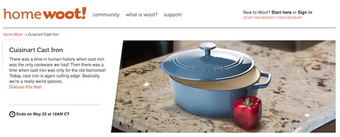 woot.com ecommerce product description