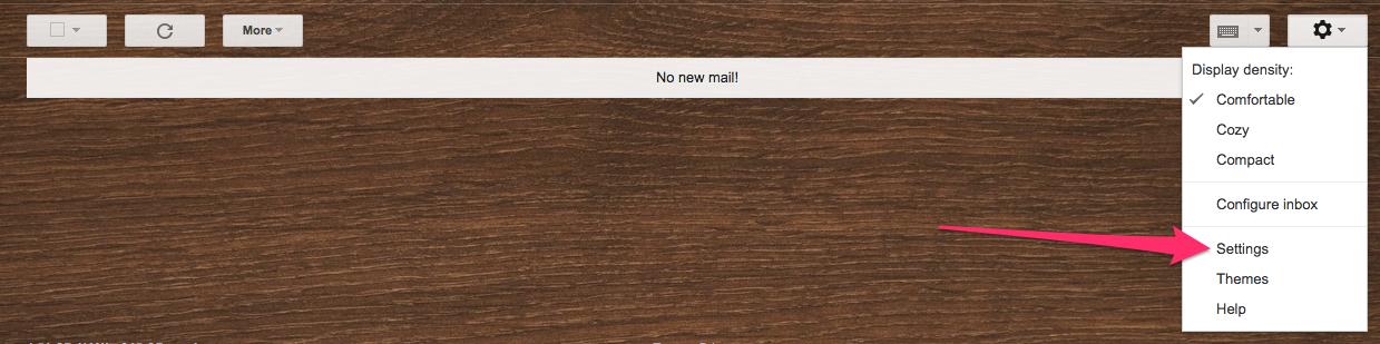 Gmail Settings 2