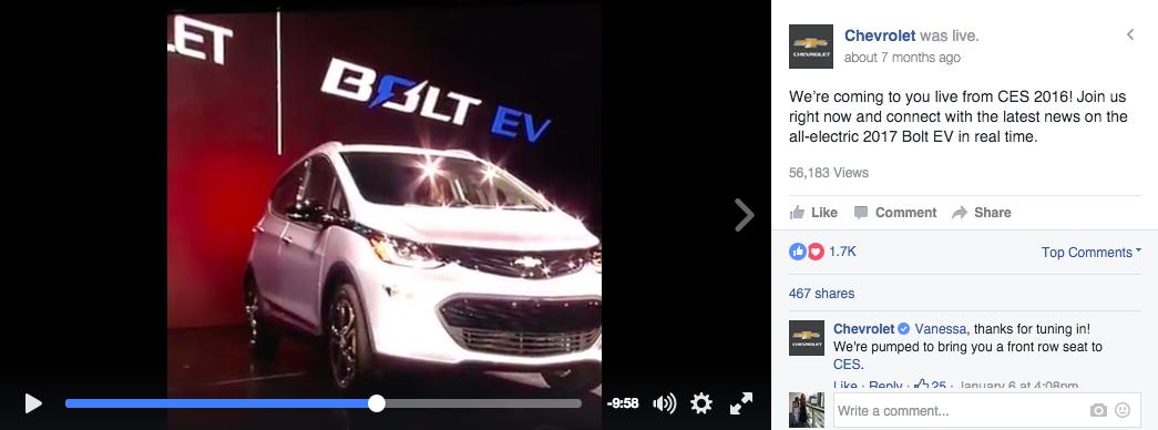 Chevrolet Product Promo