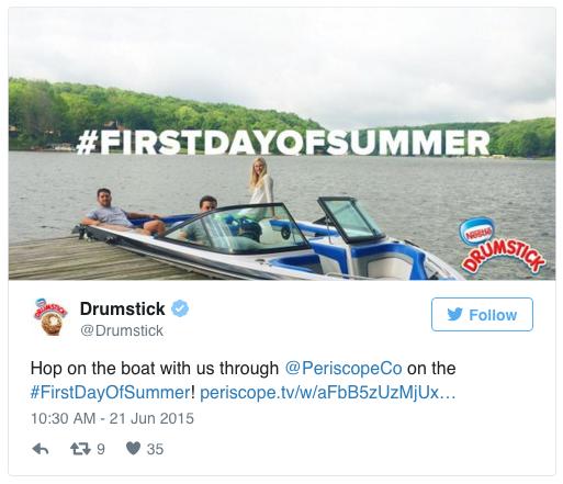 Periscope Drumstick Promo