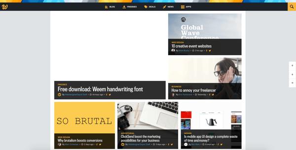 beautiful blog design webdesigner depot