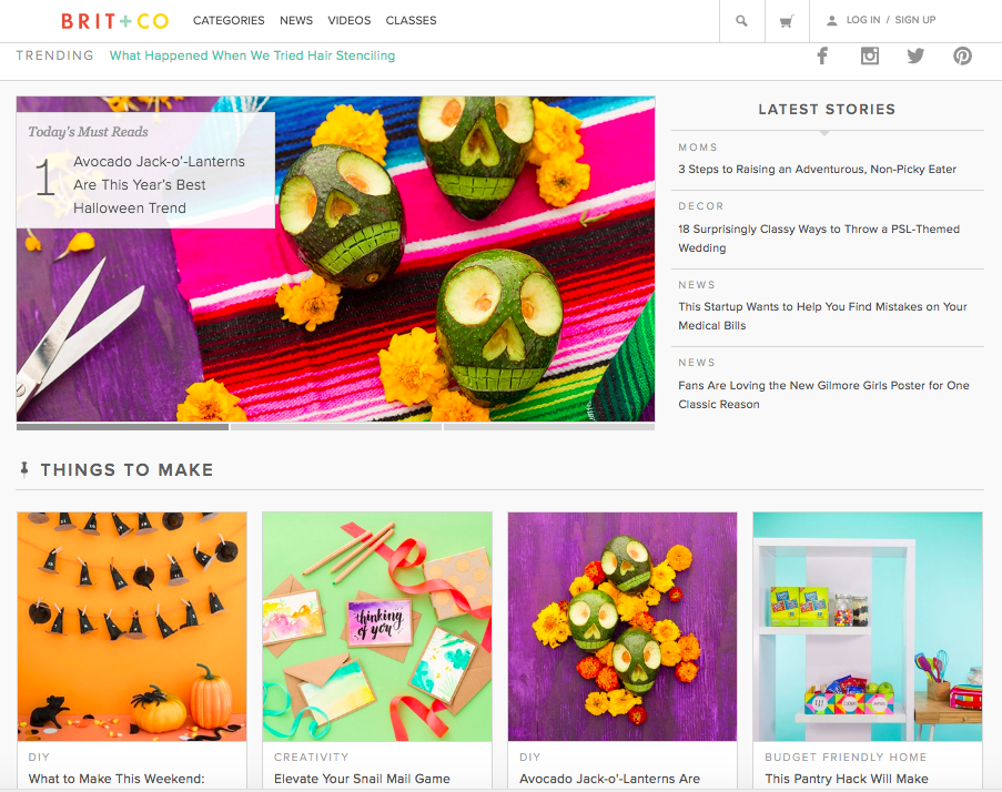 Best Blog Designs 16 of the best examples of beautiful blog design