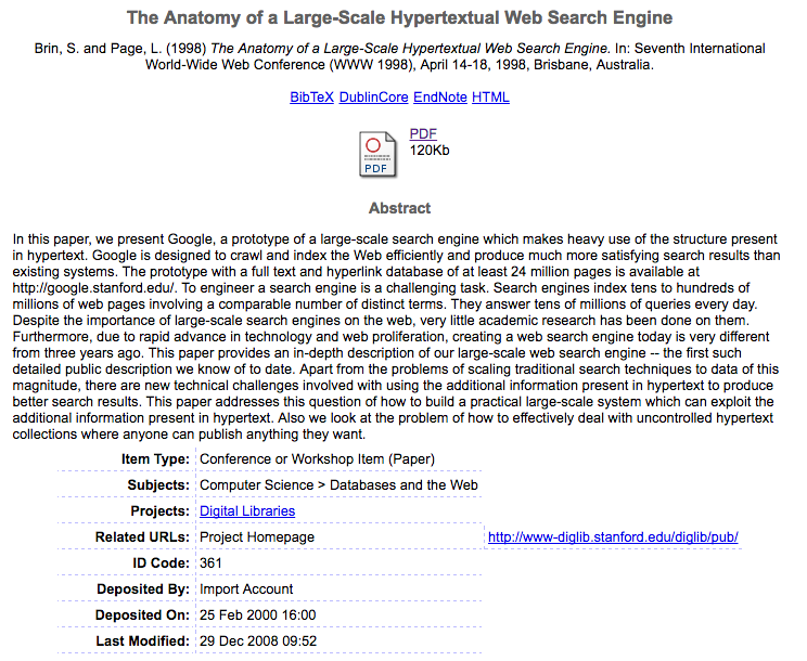 Original algorithm paper