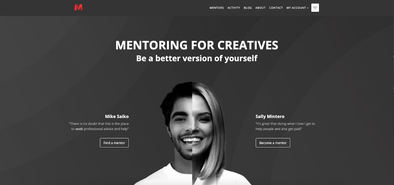 Seekos Mentoring demo built with BuddyPress plugin